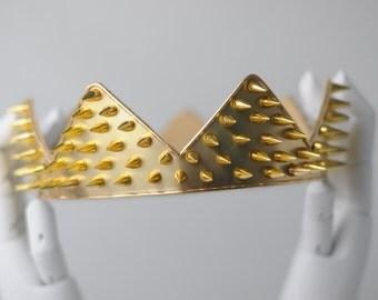 MALIN: The Warrior Men's Gold Crown