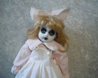Creepy Doll in Pink and White #80 Day of the Dollies