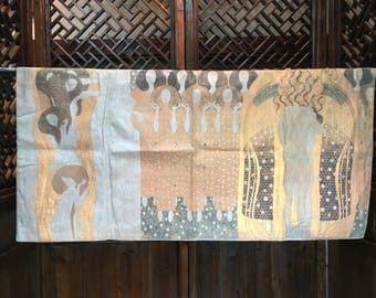 Gustav Klimt style tapestry from Europe