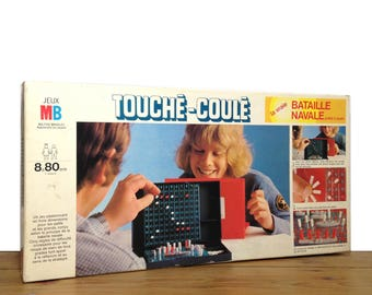 "Game ""Touché-Coulé"" by MILTON BRADLEY"