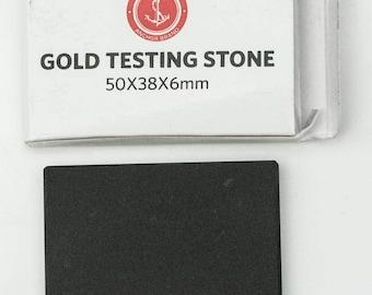 Gold silver platinum test stone acid testing jewellery jewellers 9CT 18K rings