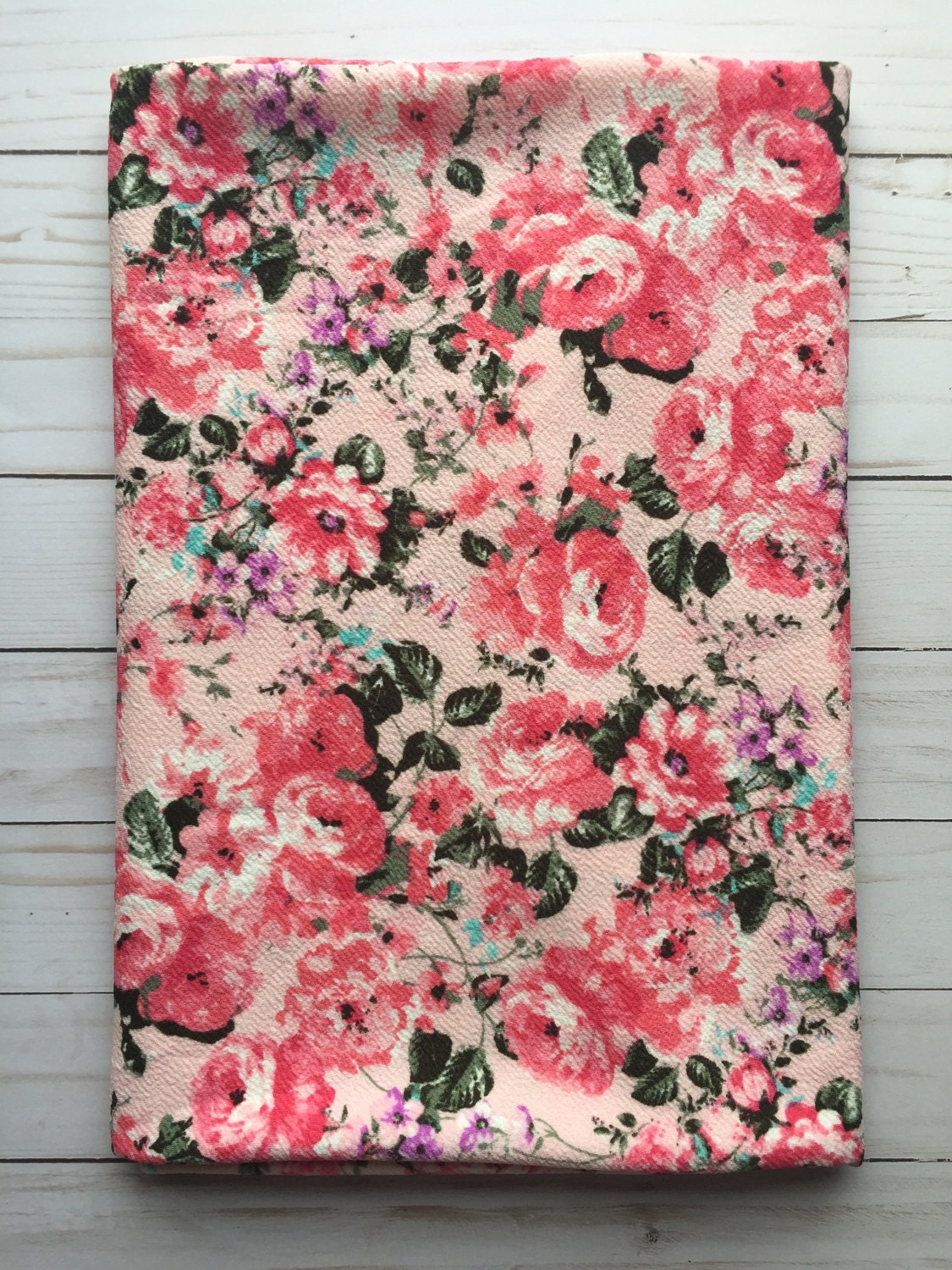 Design your own t shirt liverpool - Pink Floral Liverpool Knit Stretch Fabric 4 Way Stretch Bty By The Yard