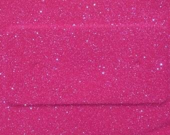 Iridescent Pink Glitter Bag