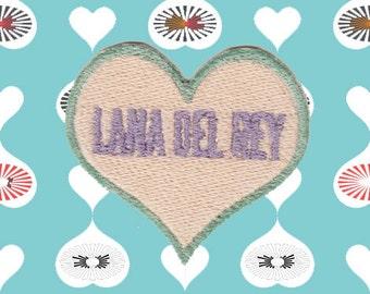 I Heart Lana Del Ray Patch (Free Shipping)