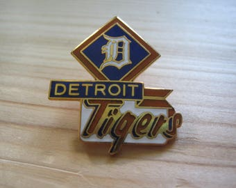 Vintage Detroit Tigers Collectable 1988 MLB Lapel/ Hat Pin