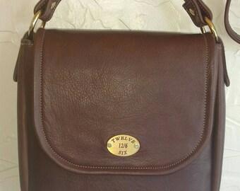 Handmade Leather Concealed Carry Cross Body Handbag