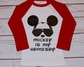 Disney Inspired Mickey is my Homeboy
