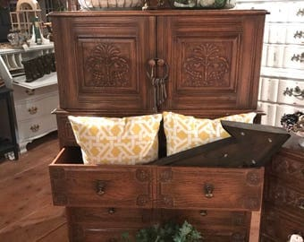 Beautifully Carved Unique Dresser