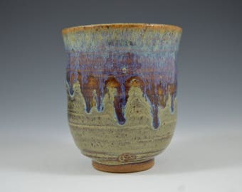Yunomi, Tea Cup, handmade ceramic tea cup, ceramics and pottery, pottery tea cup, stoneware cup
