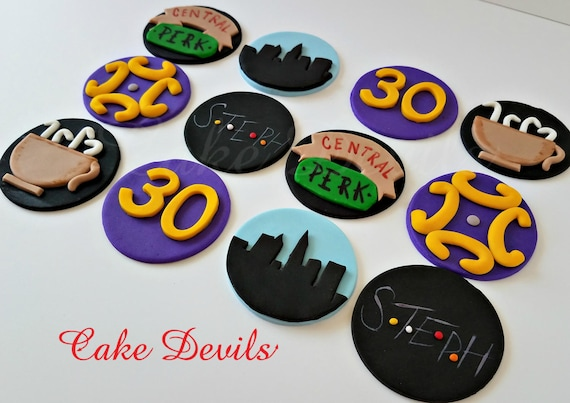 Central Perk Cake Decorations