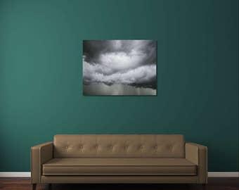 Cloud Photography, Cloud Print, Sky Photography, Sky Print, Nature Photography, Storm Photography, Storm Cloud, Fine Art Photography, Gray