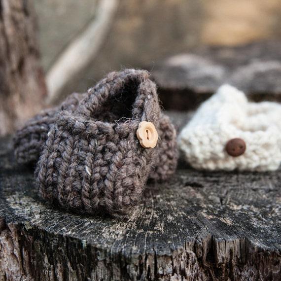 Loom Knit Baby Shoe PATTERN Loom Knit Loafer PATTERN Bootie