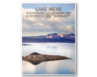 Lake Mead National Recreation Area Travel Poster