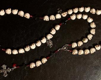 Reversible Skull Rosary