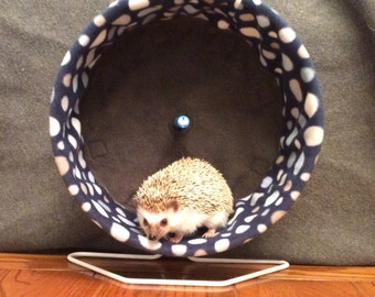Deluxe Wheel Cover, Pick Your Pattern, with Waterproof back, for Hedgehogs, Rats, and other Small Animals