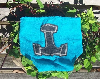 Thor's Hammer Diaper Cover for Baby - Heathen Pagan Viking Norse Baby Clothing