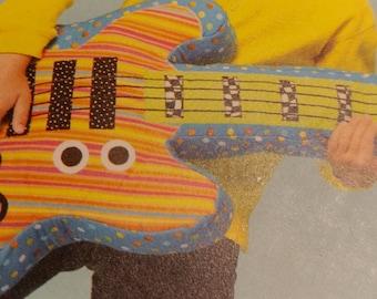 Guitar C Pillow