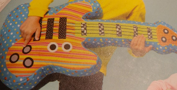 Guitar C Pillow