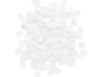 CONFETTIS BLANC 20g - White confetti