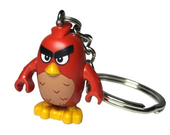 LEGO® Minifigure Angry Birds / Zipper pull / Keychain / Phone plug / Backpack  / Key ring / Ornament / Big foot