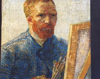 Vincent Van Gogh Digital Print by Robert Kaufman