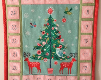 Advent calendar - festive centre panel