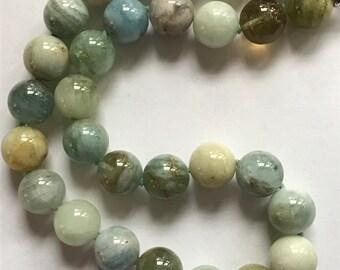 Aqua Marine Contemporary Necklace