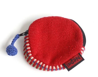 Handmade Nepalis knitted Coins bag/wallets/purse
