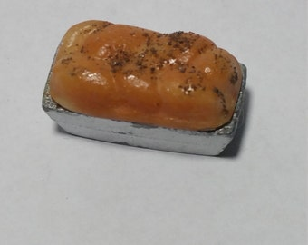 1:12 Scale loaf of Bread, Miniature Loaf of Bread