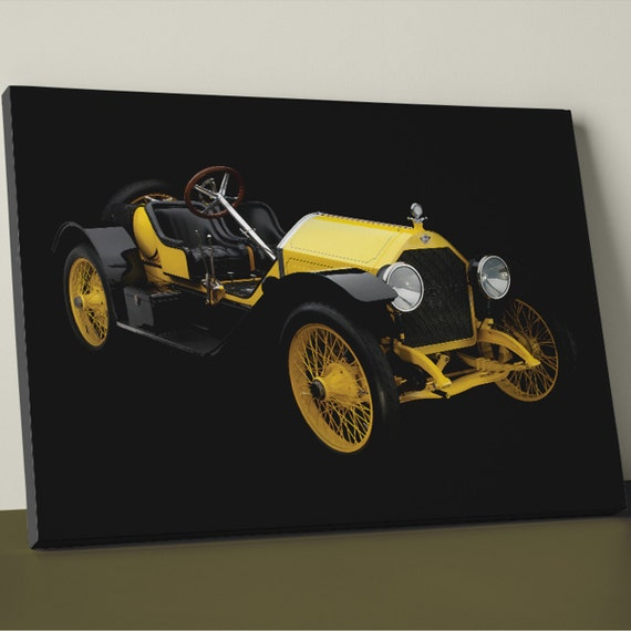 Stutz Bearcat 1914 | Mirror Wrap HP Professional Matte Canvas