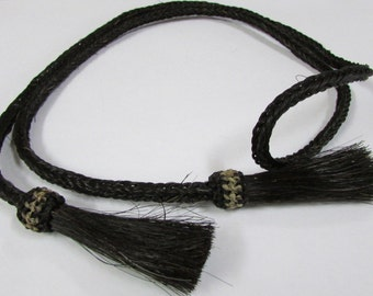 Woven Horse Hair Hat Band