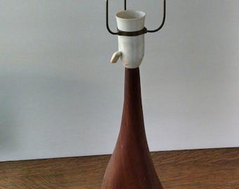 Johannes Aasbjerg teak table lamp