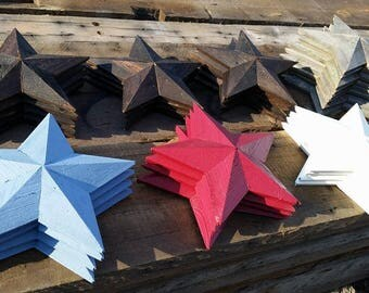 Custom Made Wooden Stars