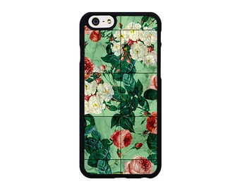 Floral marble Phone Case