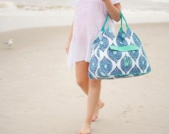 Personalized Boho Beach Bag