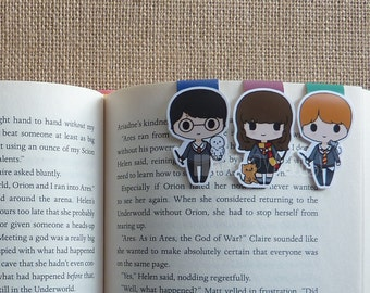 Magnetic Bookmarks • Magical Wizards