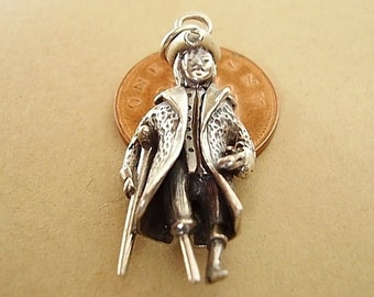 Sterling Silver Large Pirate Charm