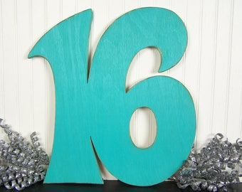 Sweet 16 Decoration Sign In Board Guest Book Sign In Book 16th Birthday Party Decoration Party Decor Centerpiece Wooden Numbers Photo Prop