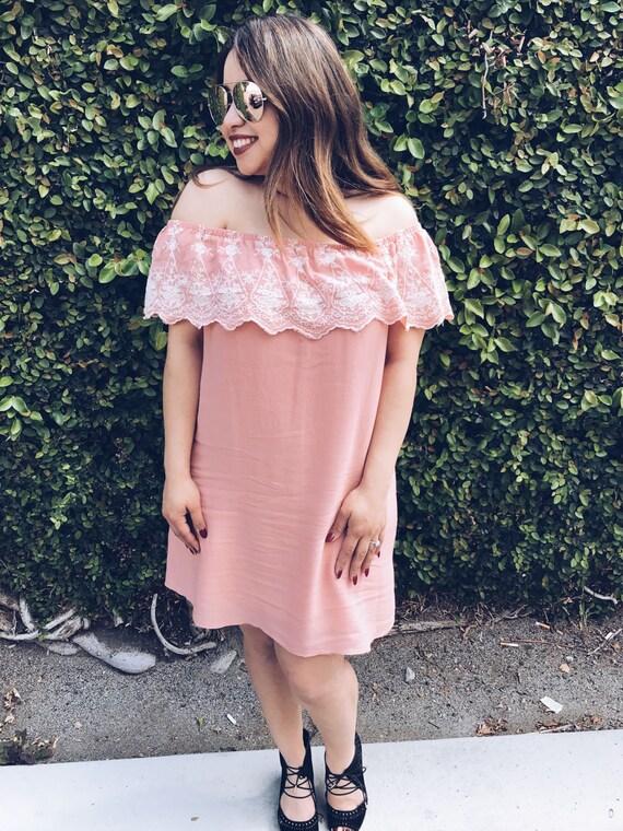 Señorita Dress | Off the Shoulder Dress