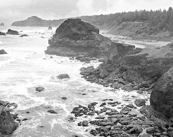 Costal / Landscape / Black & White / Nature / Photography