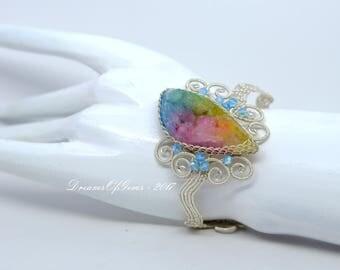 A Drop of Rainbow Bangle