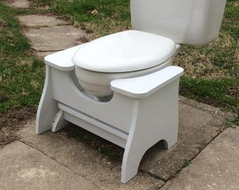 Nesting POOP STOOP Set - High Poop Stoop Full-Squat Stool AND Low Platform Poop Stoop Foot Stool - New Design!