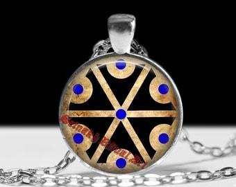 Slavic pagan amulet, Thunderbolt, pagan gods, wicca jewelry, Slavic necklace, paganism talisman #450