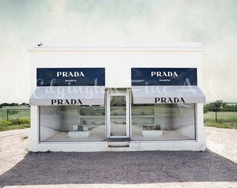 Prada Marfa photo, Texas photography, travel decor, Marfa Texas, Prada Marfa print, Prada Marfa, Texas art, Texas decor, large wall art