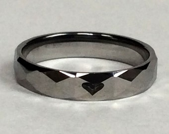 Womens Ring, Custom Ring, Personalized Ring, Tungsten Ring