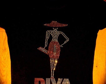 Bling Lady Diva Tee
