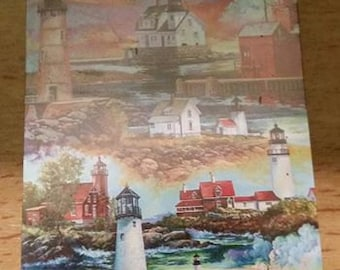 vintage deck of LIGHTHOUSE Playing Cards sealed New