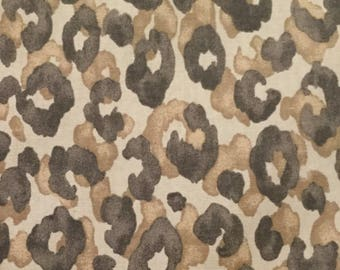 Cheetah Print Upholstery Fabric By The Yard