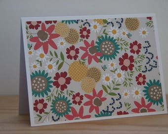 12 Wildflower Note Cards.  Summer Flower Card Set. Blank Note Cards. Flower stationery Gift for Her. Flower Note Cards