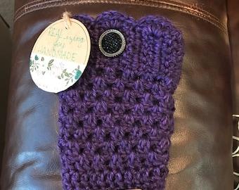 Girl's Crochet Boot Cuffs